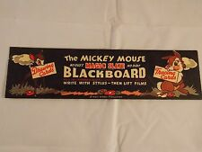 1940's MAGIC SLATE BLACKBOARD DRAWING & TRACING CARDS - SET OF 8