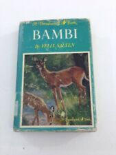 Bambi - Felix Salten (1929, 1st Edition, Hardcover, Dust Jacket)