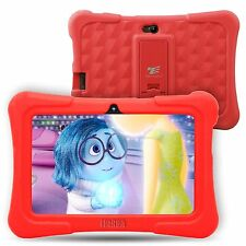 Quad Core 7'' Tablet 8GB HD Android 5.1 Google Dual Camera WiFi Bundle for Kids