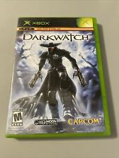 Darkwatch Microsoft Xbox 2005 Complete with manual, disc in very good condition
