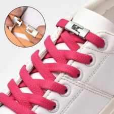 No Tie Shoelaces Elastic Magnetic Locking Laces Sneakers Canvas Trainers Shoes