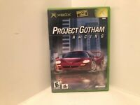Project Gotham Racing XBOX Complete w/ Manual (2001, Very Good)