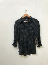 VANS Off The Wall Women's Bedtime LS Shirt - Various Sizes - Black - New