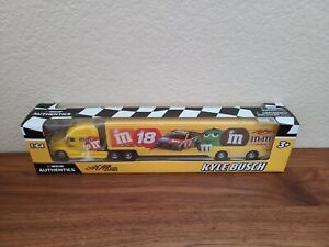 2020 Wave 6 Kyle Busch M&M's Darlington Throwback Hauler 1/64 NASCAR Authentics