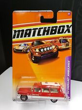 2010 MATCHBOX 1963 CADILLAC AMBULANCE - A6