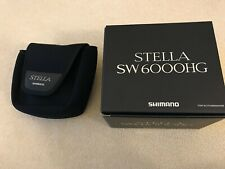 Shimano STELLA 13  SW 6000 HG fishing spinning reel