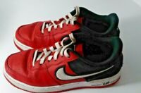 Nike Air Force 1 LV8 1 Mystic Red Black Shoes Size 5.5 Youth Boys Sneakers