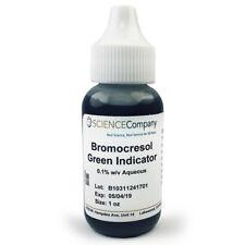 NC-13321  Bromocresol Green pH Indicator, 30mL (1 oz.)