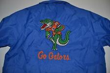 KING LOUIE VINTAGE FLORIDA GO GATORS BLUE WIND RAIN JACKET MENS SIZE MEDIUM M