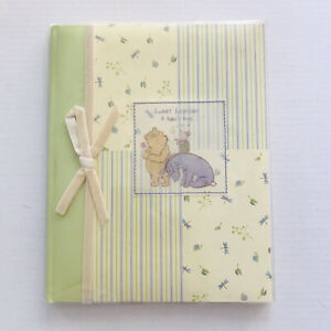 CR Gibson Disney Winnie the Pooh Baby Memory Book Sweet Surprise HB 2003