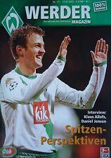 Programm 2004/05 SV Werder Bremen - Mönchengladbach