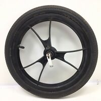 "16"" Baby Jogger Front Quick Release Wheel Summit Stroller  Black 1.75 Tire #F22"