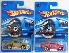 Hot Wheels '68 Mustang No. 128 Color Variation Green & Red 2006
