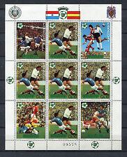 s5807) PARAGUAY 1981 MNH** WC Football'82 - Coppa Mondo Calcio MS (9v)
