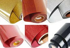Sparkle Heat Transfer Glitter Vinyl Sheet HTV PU Heat Press Transfer 300mmx210mm