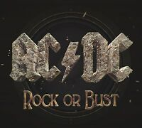 Rock Or Bust - AC/DC CD Sealed ! New ! 2014 !