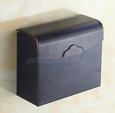 Oil Rubbed Bronze Wall Mounted Bathroom Tissue Boxes Paper Roll Holder Pba300