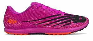 New Balance Women's XC Seven Spikeless v3 Track Spike Shoes Pink with Orange