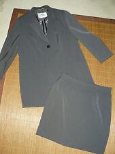 Einreihige Damen-Anzüge & -Kombinationen aus Polyester mit Jacket/Blazer und Unifarben