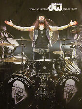 Black Sabbath, Tommy Clufetos, Dw Drums, Full Page Promotional Ad