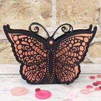 Stanzschablone Schmetterling Schachtel Hochzeit Weihnachts Oster Geburtstag DIY