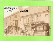 Fosters Castle Hotel (B) Folkestone 1906 unused RP pc  Ref A856