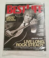 Jon Bon Jovi Live Long, Rock Steady - Best Life Magazine Issue November 2007 New