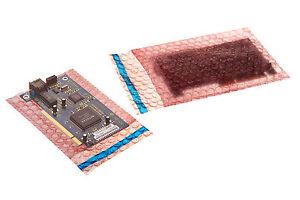Antistatic Bubble Bags 100 x 135mm + self seal lip (Pack Qty: 1,000)
