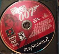 JAMES BOND 007 FROM RUSSIA WITH LOVE SONY PLAYSTATION 2  2005 FREE SHIPPING