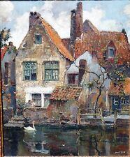 Vintage Oil/canvas, A von Neste, dutch b.1874,