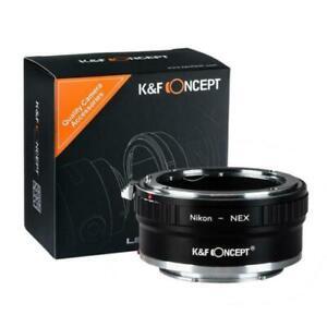 K&F Concept - Nikon F mount lens to Sony E Lens mount Adapter