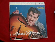 JIMMIE RODGERS~ COMPACT 33~ NEAR MINT~ EPR-1-303~ROULETTE ~ POP 45