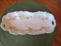 Weimar Germany Celery or asparagus or serving Bone China tray