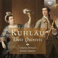 Kodály Quartet - Flute Quintets [New CD]