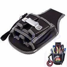 9in1 Electrician Waist Pocket Belt Tool Pouch Bag Screwdriver Utility Kit Holder