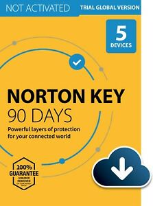 Norton 360 Premium 90 days / 5 Devices (key for antivirus) ⚡INSTANT DELIVERY⚡