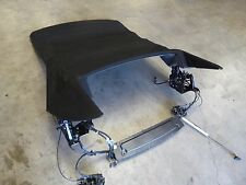 04-05 BMW 645Ci E64 Convertible Roof Black Top 6 Series OEM