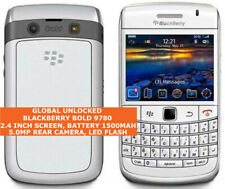 BLACKBERRY BOLD 9780 White Unlocked Gps Cell Phone Blackberry Os 6.0 Smartphone