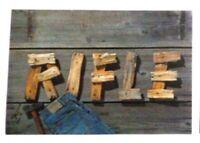 VECCHIO ADESIVO ORIGINALE / Old original sticker RIFLE JEANS (cm 13 x 9) n