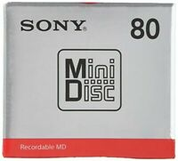 SONY MD80 Minidisc 80 Minute MDW80T Japan Mail Shipping
