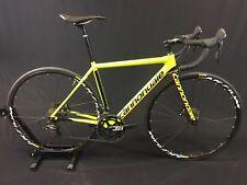 2017 Cannondale SuperSix EVO Ultegra Disc Demo Bike - 48cm, Yellow/Black