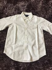 Gap Boys Cotton Shirt Age 6/7 With Button Down Collar