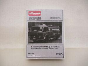 x-71517Gollwitzer 117.00 1:87 Feuerwehr Hamburg Mercedes Schaumtankfahrzeug