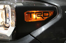 Vinyl Decal Graphics TRD Head Light Wrap Kit for 16-17 Toyota Tacoma Matte Black