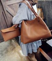 Women Shoulder Messenger Bag PU Leather Tote Purse Handbag Crossbody Satchel Kit