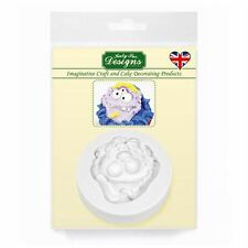 Cupcake Icing Sugar Paste Embellishment Topper Mould: Messy Monster Boy