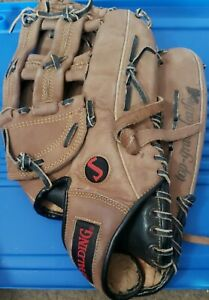 """Spalding SC31 Left Handed 13.5"""" Baseball or Softball Glove Competition Series"""