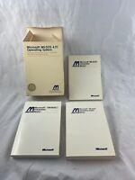 Vintage - Microsoft - MS-DOS - Version 4.01 - Lot of 3 Manuals - Minta
