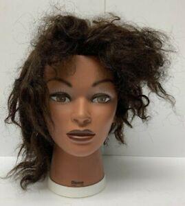 Burmax Human Hair Dionne Cosmetology Doll Head