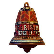 1978 Hallmark Ornament Schneeberg Bell Keepsake Vintage